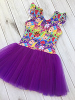 Grape  purple Mesh/Tulle
