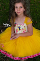 Bright Sunshine  Yellow Mesh (Tulle)