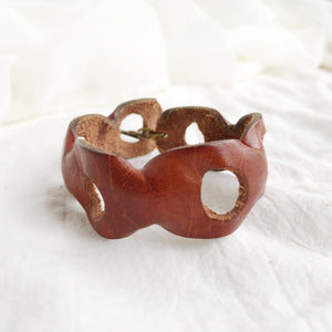 Brown Biggie Cuff