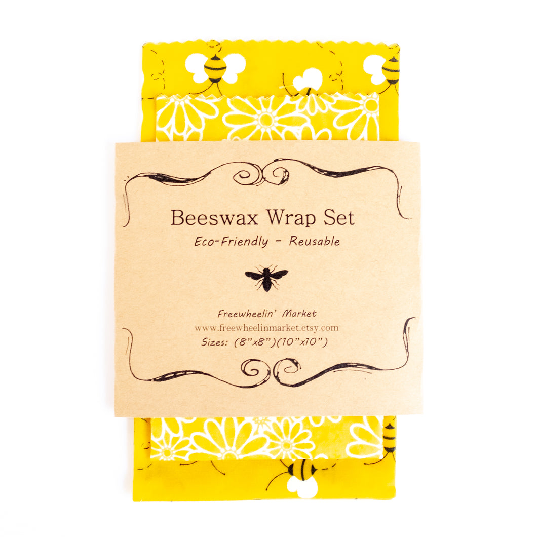 Beeswax Wraps (set of 2)