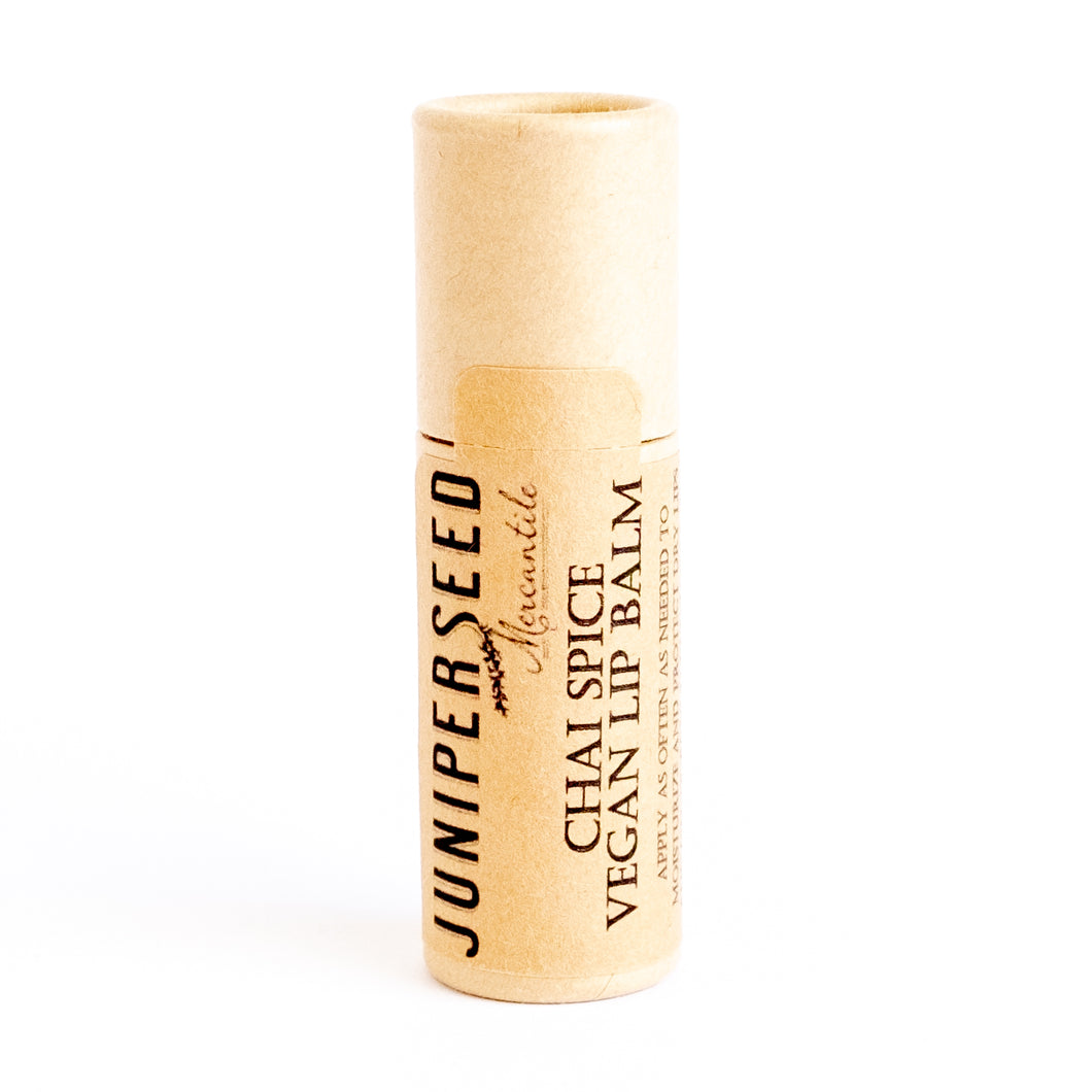 Vegan Chai Spice Lip Balm by Juniperseed Mercantile