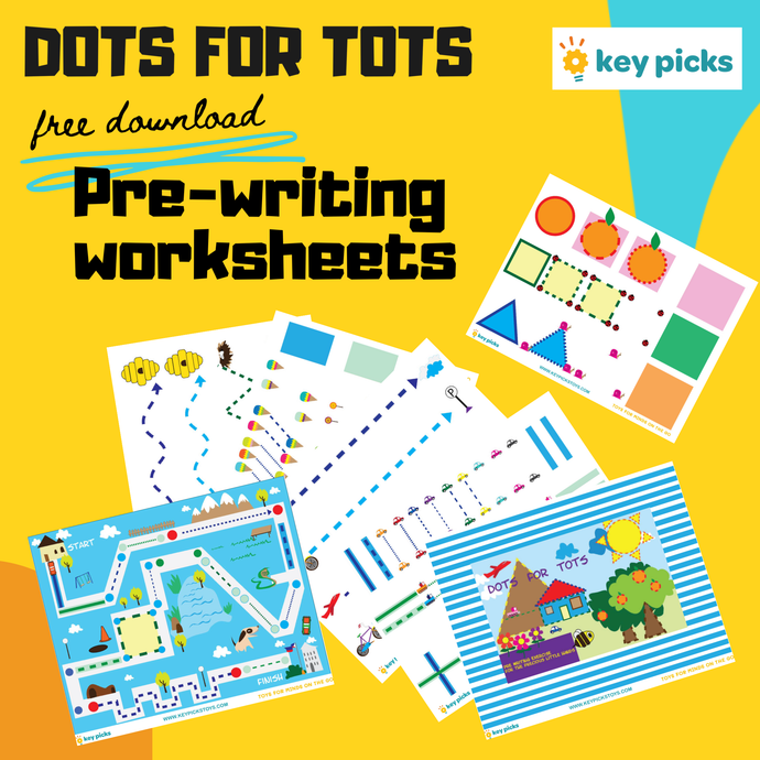 FREE PRE-WRITING WORKSHEETS (DOTS FOR TOTS)