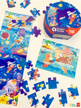 Load image into Gallery viewer, 4 PUZZLES IN A BAG - UNDER THE SEA