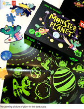 Load image into Gallery viewer, MONSTER PLANET - GLOW IN THE DARK PUZZLE