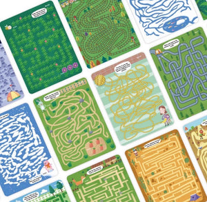 AMAZING MAZES TRACING GAME