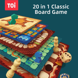 20 IN 1 BOARD GAME SET
