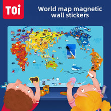 Load image into Gallery viewer, MAGNETIC WORLD MAP
