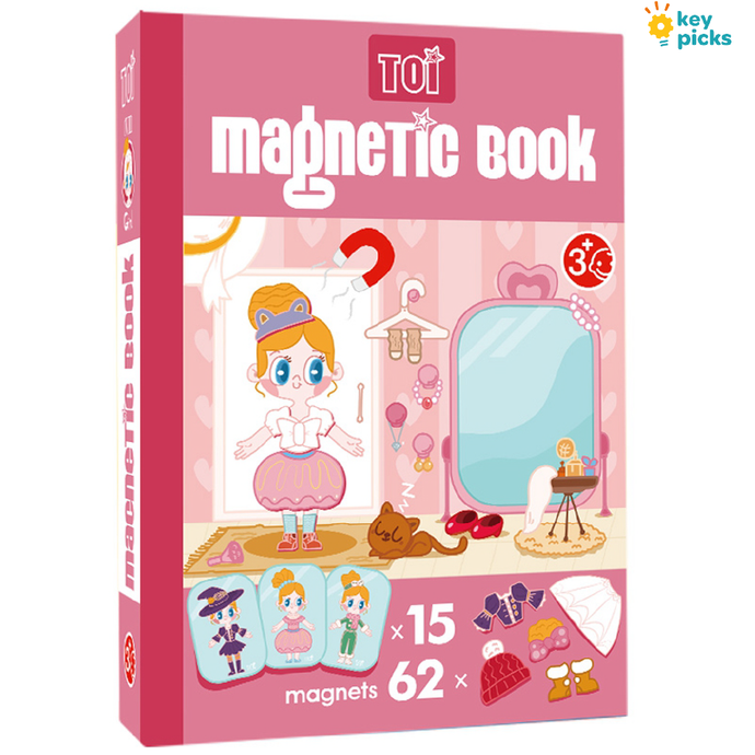 MAGNETIC BOOK - DRESS UP DOLL