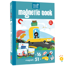 Load image into Gallery viewer, MAGNETIC BOOK - TRANSPORT
