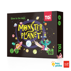 MONSTER PLANET - GLOW IN THE DARK PUZZLE