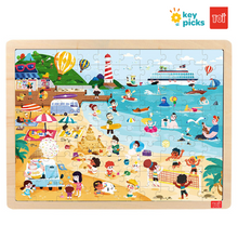 Load image into Gallery viewer, BEACH (100-pc puzzle)
