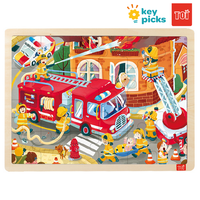 FIRE ENGINE (24-pc puzzle)
