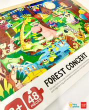 Load image into Gallery viewer, FOREST CONCERT (48-pc puzzle)