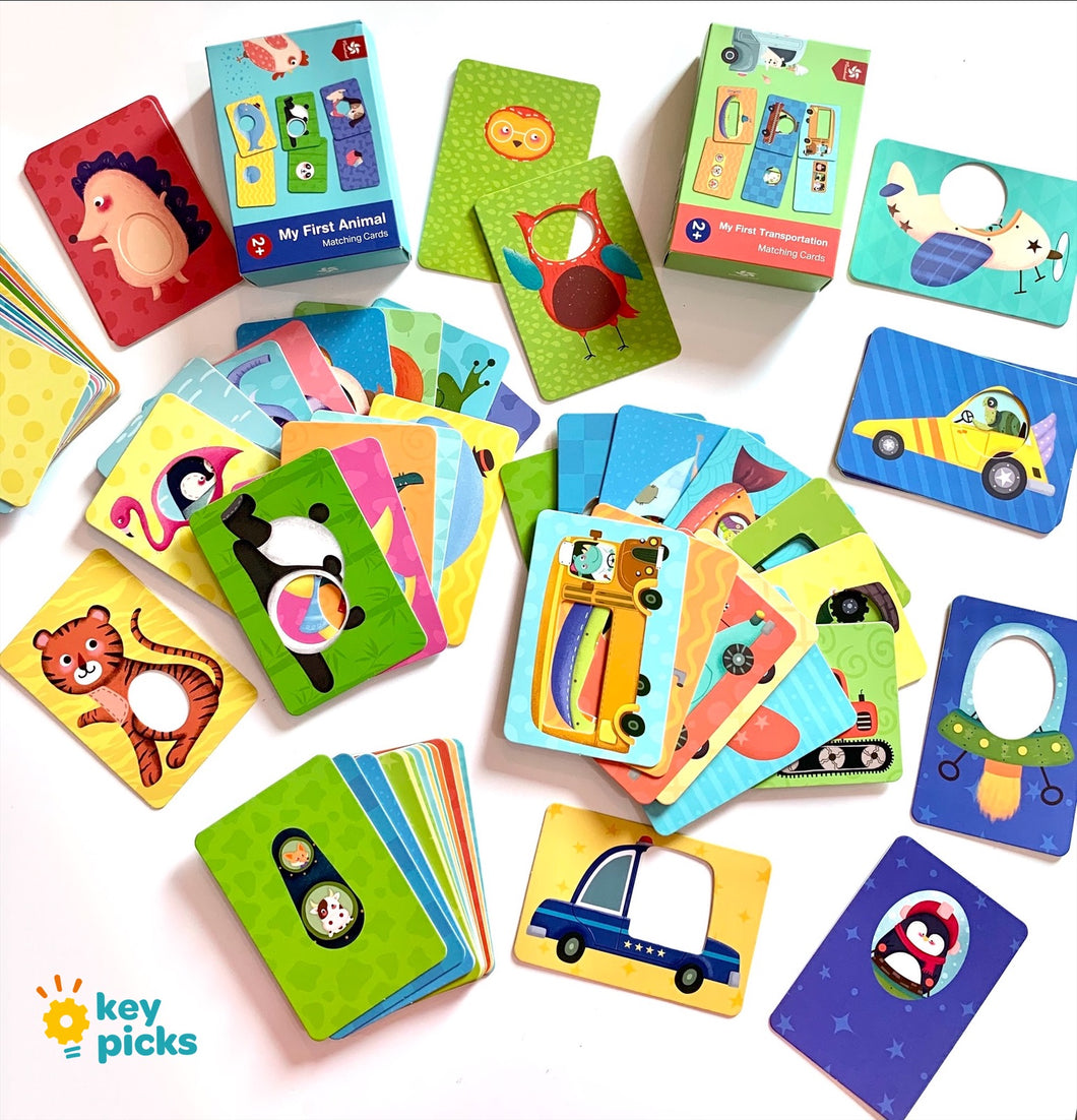 EARLY CHILDHOOD MATCHING CARDS