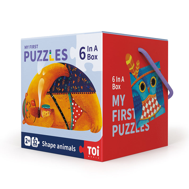 MY FIRST PUZZLES - SHAPE ANIMALS