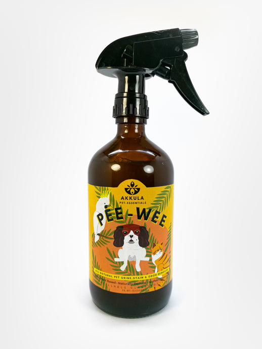 Pee-Wee : Pet Urine, Stain & Odor Remover Ready Spray 500ml