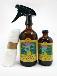 Multi Purpose Cleaner Set : Wild Orange + Tangerine + Grapefruit