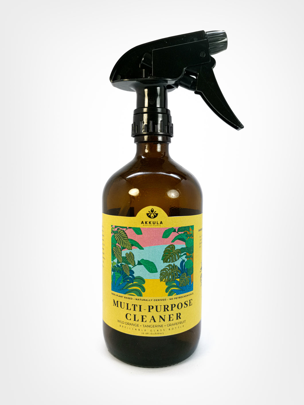 Multi Purpose Cleaner Ready Spray : Wild Orange + Tangerine + Grapefruit 500ml