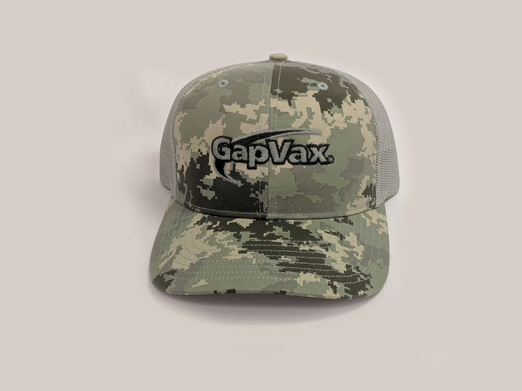 Green Digital Camo Trucker