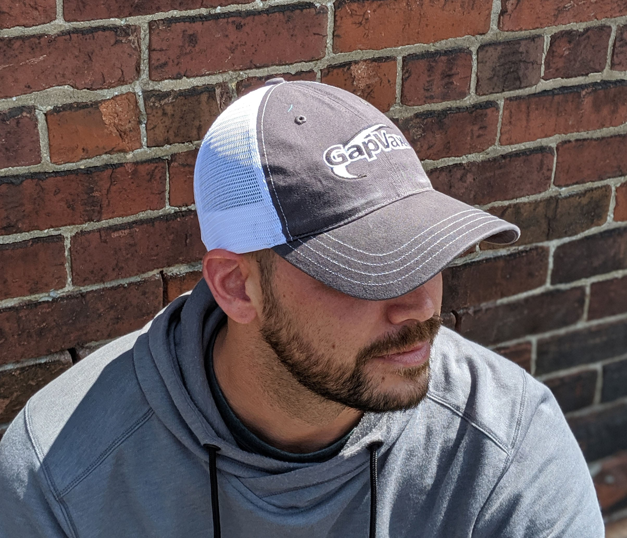 Low Pro Gray Trucker