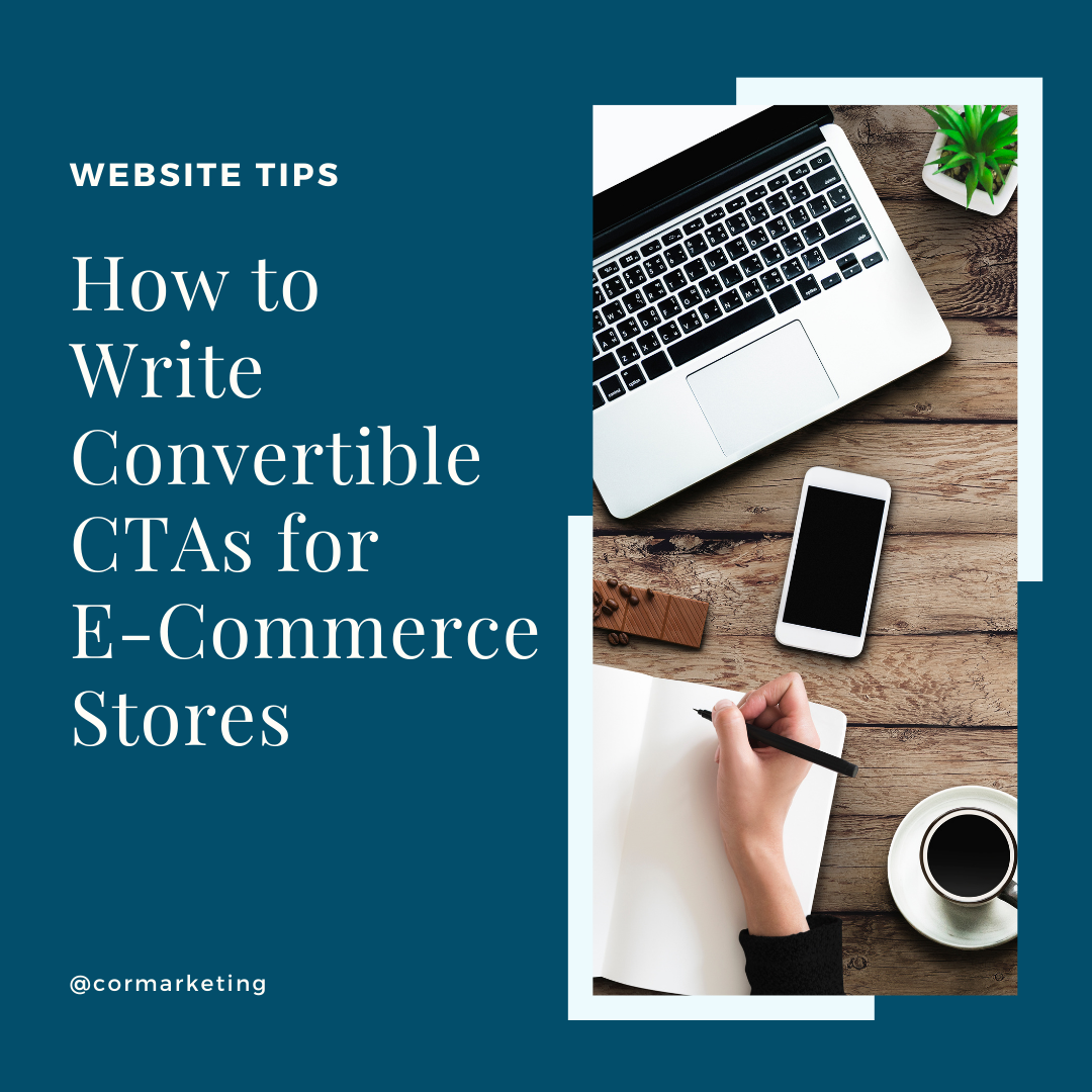 How to Write Convertible CTAs for ECommerce Stores
