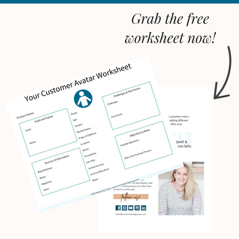 Customer Avatar Worksheet Opt-In Image