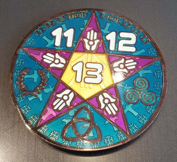 11-12-13 & 13-12-13 Multi event Geocoin