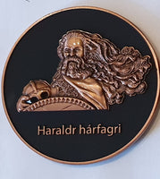 Norwegian Vikings geocoin - The One King