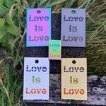 Love Is Love Geocoin+Pin
