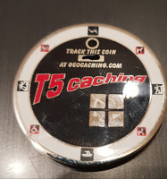 Extremcaching 2010 Geocoin - Satin Silver