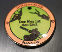 Extremcaching 2010 Geocoin - Black Nickel
