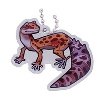 Geopets Travel Tag - Cricket the Leopard Gecko