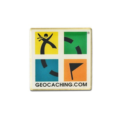 Geocaching logo Pin