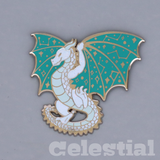 Wyvern Constellation Dragon Enamel Pin