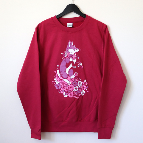 Sakura Fox Sweatshirt