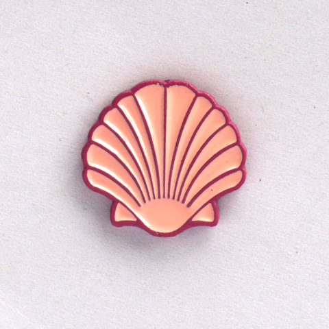 Pink Shell Mini Pin