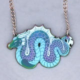 Rainbow Dragon Pendant