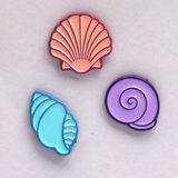 Purple Shell Mini Pin