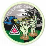 CREST - I SURVIVED CAMP - HANDS GLOW IN THE DARK