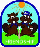 CREST - BEAVER SPORT FRIENDSHIP (BASEBALL)