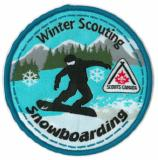 CREST - SNOWBOARDING - WINTER SCOUTING