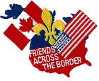 CREST - FRIENDS ACROSS THE BORDER