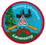 CREST - CANOEING - SCOUTING ADVENTURE