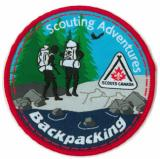 CREST - BACKPACKING - SCOUTING ADVENTURE