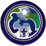BADGE VENTURER WSEP ENVIRONMENT PURPLE
