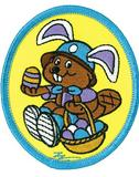CREST - EASTER BEAVER (EGG BASKET)