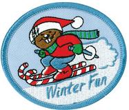 CREST - WINTER FUN HOLIDAY BEAVER