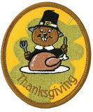 CREST - THANKSGIVING BEAVER