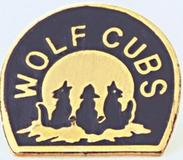 PIN - HOWLING WOLF CUB