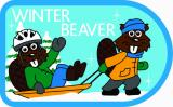 CREST - WINTER BEAVER-SLED